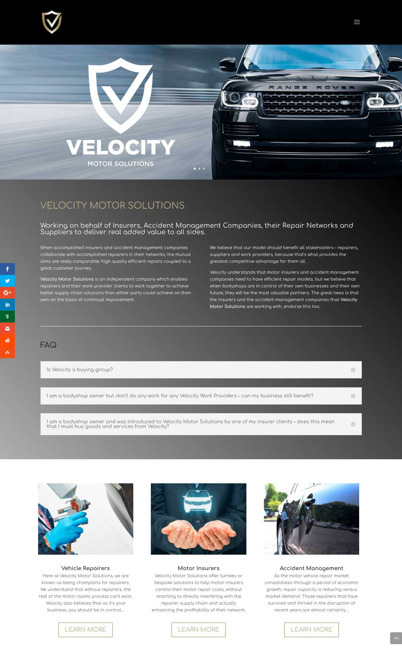 velocity website created by Twistedgifted