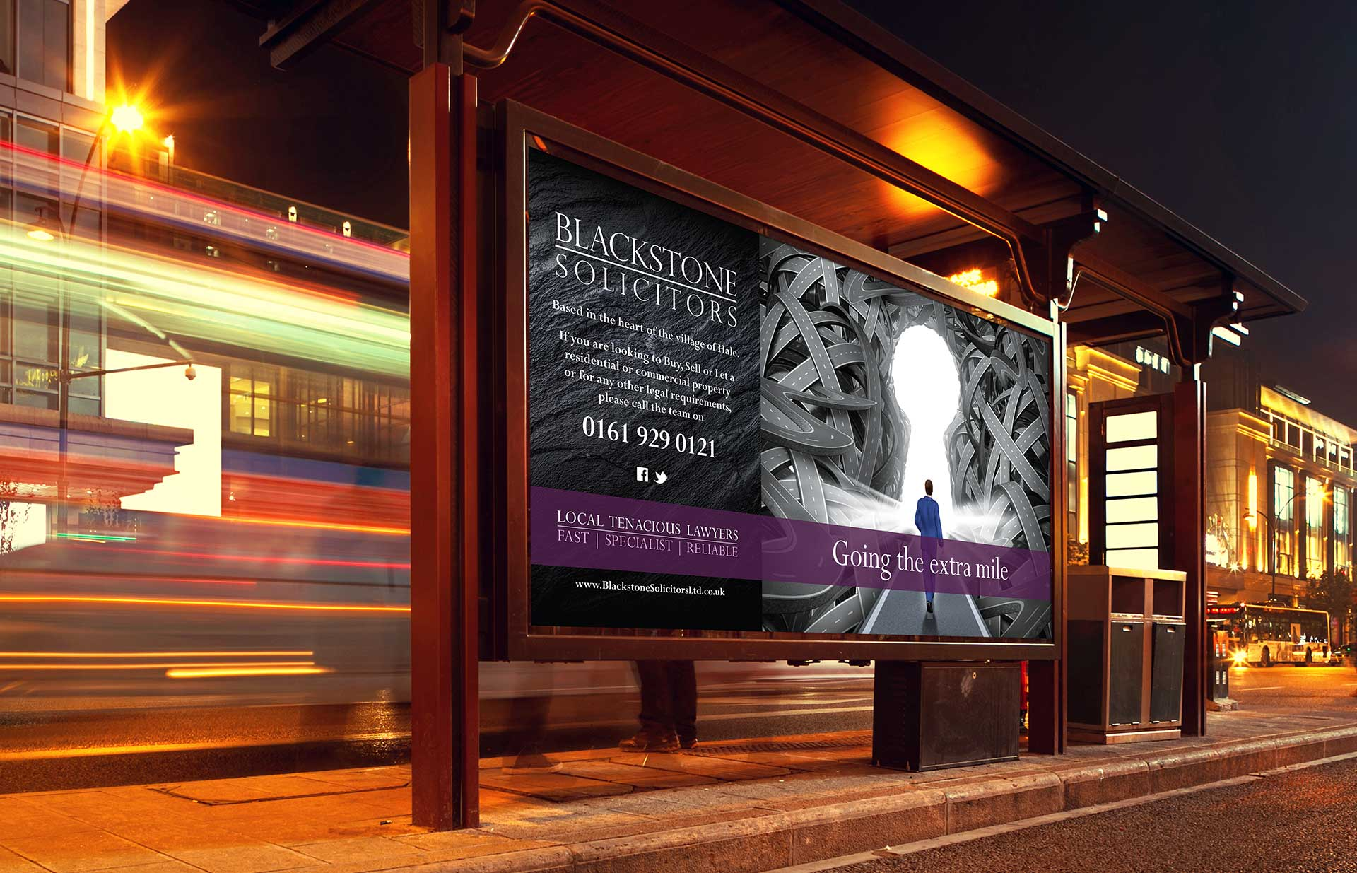 Blackstone billboard poster by Twistedgifted